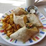 Breakfast Burrito from Collette