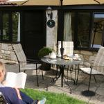Enjoying the garden area with your own outdoor furniture