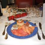 Um dos pratos do jantar de Natal ( 25 de Dezembro)