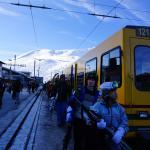 Bahn auf die kleine Scheidegg