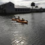 Kayaking in Kings Bay