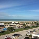 ocean/beach view from my room