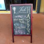 Daily menu board
