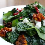 Baby Spinach & Kale Salad