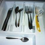 Thats all the cutlery