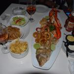Seafood platter for 2 is my personal recommendation - evening Mr. Said *great* character, friend