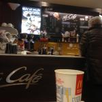 McCafé in McDonalds
