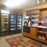 Sundries store near desk