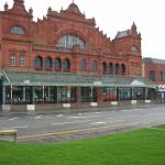 the Wintergardens - one of several fine buildings