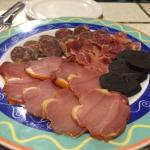 Tapas - mixed meats