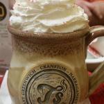 Yummy mug of hot chocolate at T's