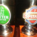 Good real ales on tap!