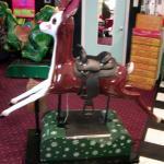 Restored Rudolph kiddie ride