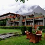 Gilgit Serena Hotel in Summer