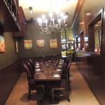 Quaint private dining room