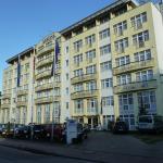 Zufahrt zum Arkona Strandhotel über die Proraer Straße