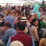 Our hugely busy Main Marquee in 2015