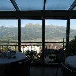 Amazing views from the breakfast nook