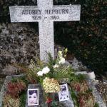 Audrey Hepburn grave December 28th 2015