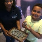 A young visitor to The Tanzanite Experience
