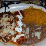 Chicken Enchilada / Chile Relleno