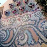 La Grande Fioriera in Mosaico dal basso