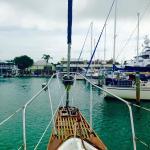 Heading into the Marina