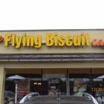 Entrance to the Flying Biscuit Cafe-Come in and Enjoy a Wonderful Breakfast!