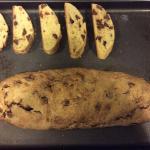 House made chocolate biscotti