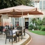 Restaurant La Closerie côté jardin