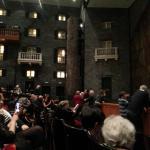 Left proscenium