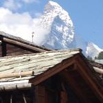 Matterhorn, een half uurtje vanuit hotel Montana