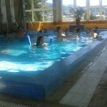 Pileta cubierta Hotel Monte Claro