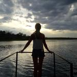 Beautiful evening cruise along the Zambezi River