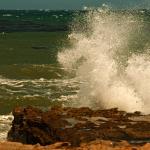Big waves on Santa Rosa