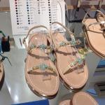 Sample sandals