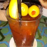 Bloody Mary from the Bar on the the grounds.  Cheers!