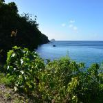 l'entrée du chemin d'accès à la plage