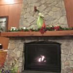 Lobby Fireplace, Fairfield Inn and Suites, Santa Rosa/Sebastopol