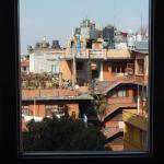 北側の部屋からの眺望