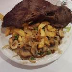 Sirloin steak Just disgusting