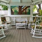 Garten vom Duval House