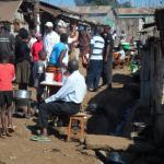 Street in Kibera Slums
