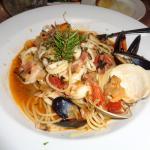 Spaghetti Frutti Di Mare.