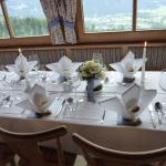 Deko Hochzeitstafel 1 im Stüberl
