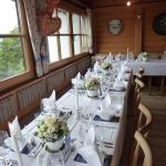 Deko Hochzeitstafel 2 im Stüberl