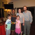 With Petranella at Bush Camp