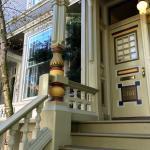 Victorian Home Walk Foto