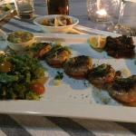 Shrimps limoncello