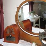 Soaking tub reflection (room #3)